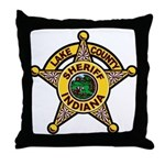 Lake County Sheriff Throw Pillow