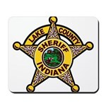 Lake County Sheriff Mousepad