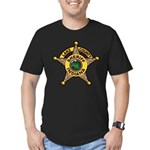 Lake County Sheriff Men's Fitted T-Shirt (dark)