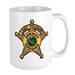 Lake County Sheriff Large Mug