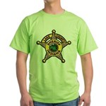 Lake County Sheriff Green T-Shirt