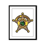 Lake County Sheriff Framed Panel Print