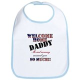 Welcome/daddy Bib