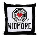 I Heart Widmore - LOST Throw Pillow