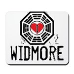 I Heart Widmore - LOST Mousepad