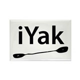 iYak Rectangle Magnet (100 pack)