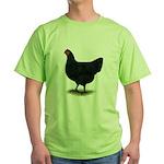 Jersey Giant: Black Hen Green T-Shirt