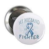 "My Husband Is A Fighter 2.25"" Button (10 pack)"
