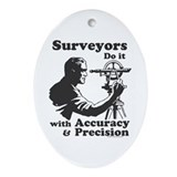 SurveyorsDoIt Ornament (Oval)