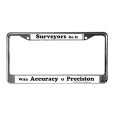 SurveyorsDoIt License Plate Frame