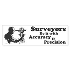 SurveyorsDoIt Bumper Sticker