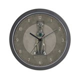 Egyptian Cat Wall Clock