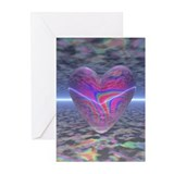 Psychedelic Valentine Cards (Pk of 6)