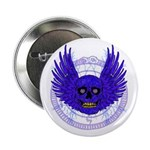 "BLUE SKULL 13 2.25"" Button"