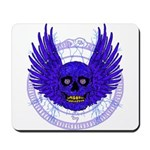 BLUE SKULL 13 Mousepad