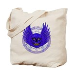 BLUE SKULL 13 Tote Bag