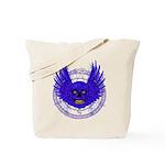 BLUE SKULL 13 Tote Bag