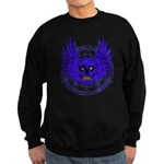 BLUE SKULL 13 Sweatshirt (dark)