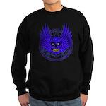 BLUE SKULL 13 Sweatshirt (dark)