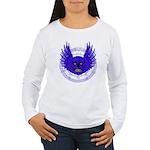 BLUE SKULL 13 Women's Long Sleeve T-Shirt
