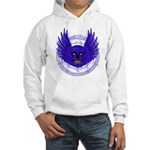 BLUE SKULL 13 Hooded Sweatshirt