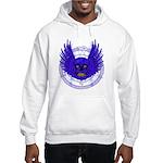 BLUE SKULL 13 Hooded Sweatshirt