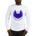 BLUE SKULL 13 Long Sleeve T-Shirt