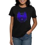 BLUE SKULL 13 Women's Dark T-Shirt