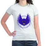 BLUE SKULL 13 Jr. Ringer T-Shirt