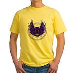 BLUE SKULL 13 Yellow T-Shirt