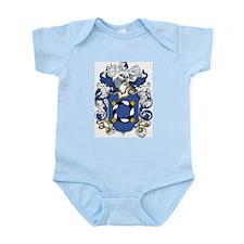 Jocelyn Coat of Arms Infant Creeper