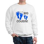 Big Cousin Baby Footprints Sweatshirt