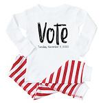 Big Cousin Baby Footprints Organic Kids T-Shirt (d
