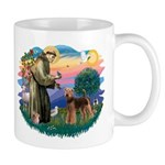 St Francis #2/ Airedale Mug