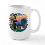 St Francis #2/ Fox Terrier Large Mug