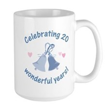 20th Anniversary Bells Mug
