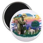 St Francis #2/ Eng Bulldog Magnet