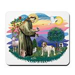 St Francis #2/ Eng Bulldog Mousepad