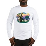 St Francis #2/ Eng Bulldog Long Sleeve T-Shirt