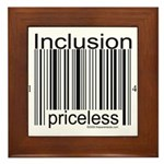 Inclusion Priceless Framed Tile