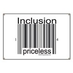 Inclusion Priceless Banner