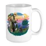 St Francis #2/ Cocker (blk) Coffee Mug