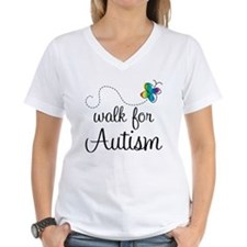 Butterfly Walk For Autism Shirt