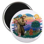 St Francis #2/ Cavalier (r) Magnet