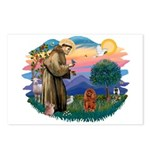St Francis #2/ Cavalier (r) Postcards (Package of