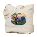 St Francis #2/ Cavalier (r) Tote Bag