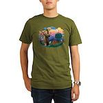 St Francis #2/ Cavalier (r) Organic Men's T-Shirt