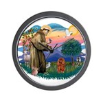 St Francis #2/ Cavalier (r) Wall Clock