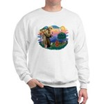 St Francis #2/ Cavalier (r) Sweatshirt