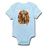 Joyce Coat of Arms Infant Creeper